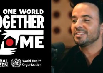 Transmisión del One World: Together at Home