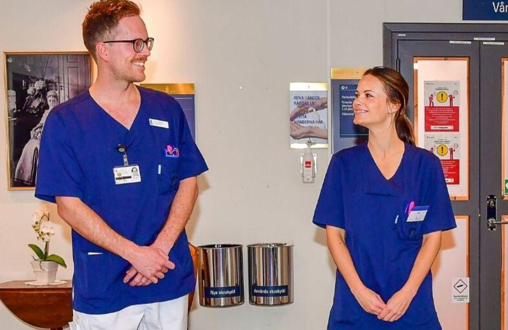 Princesa Sofía de Suecia se une a la lucha contra la COVID-19