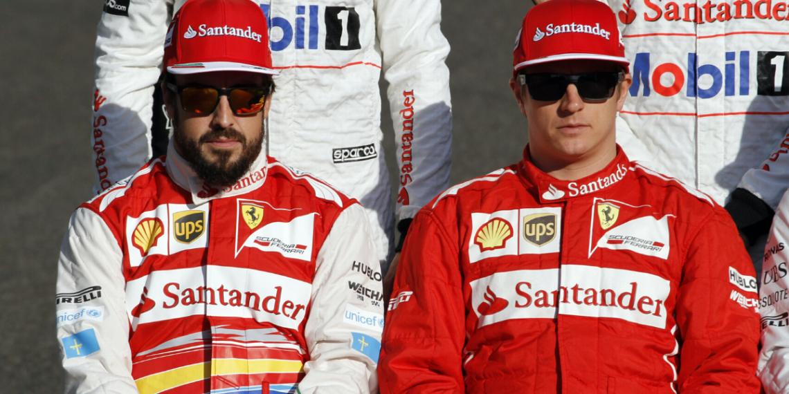 Raikkonen y Fernando Alonso se parecen