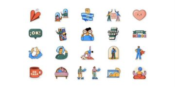 Stickers de WhatsApp por el coronavirus
