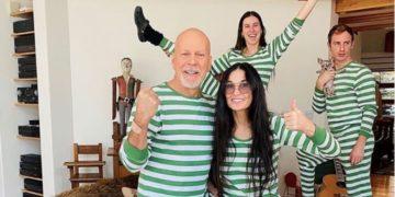 Bruce Willis y Demi Moore