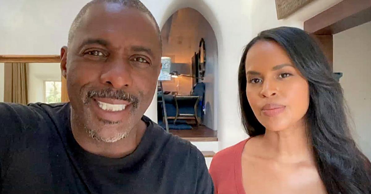 Idris Elba y su esposa Sabrina luchan junto a la ONU contra la COVID-19