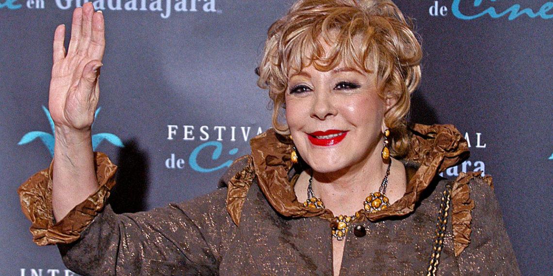 Silvia Pinal fue hospitalizada tras sufrir accidente