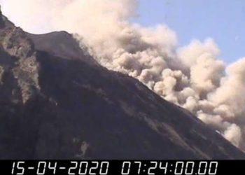 erupción volcán Etna