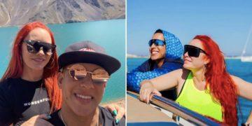 Esposa de Daddy Yankee bromea con el cantante