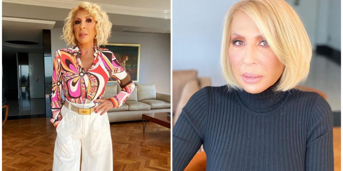 La presentadora Laura Bozzo sorprendió a sus seguidores al dejarse ver sin una gota de maquillaje