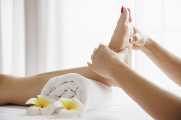 masaje de pies