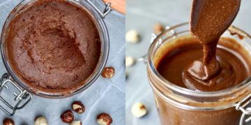 Elaboración de nutella fit casera. Foto: Instagram @minrebolledo