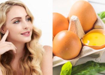 Nutrir e hidratar la piel con huevo