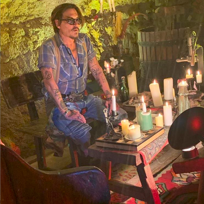 Johnny Depp Instagram