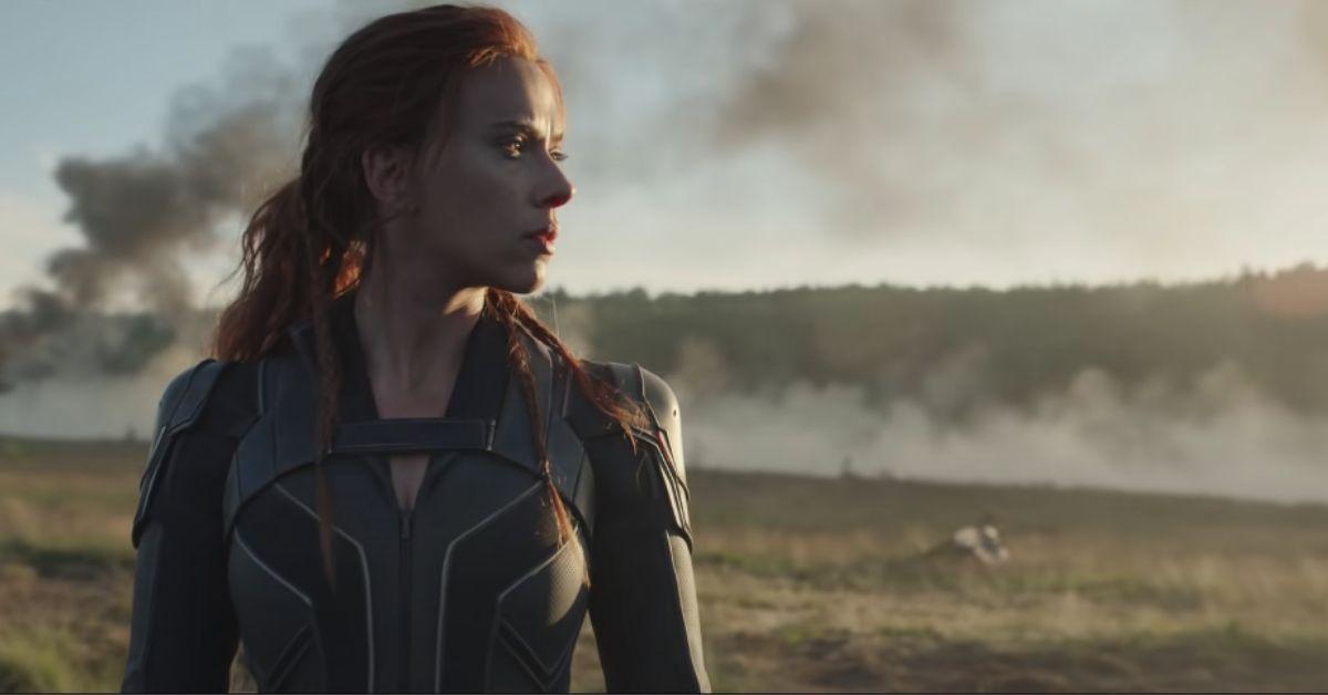 Scarlett Johansson en Black Widow