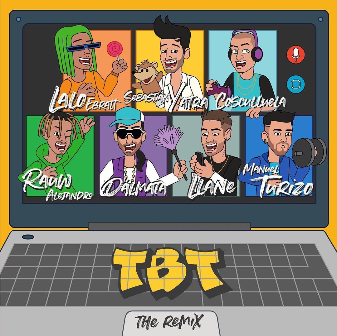 Sebastián Yatra estrena el remix de su canción 'TBT'