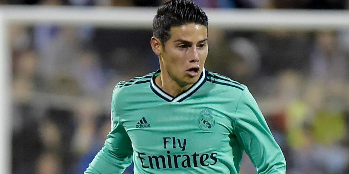 Carlos Valderrama asegura que James debe irse del Real Madrid - AFP