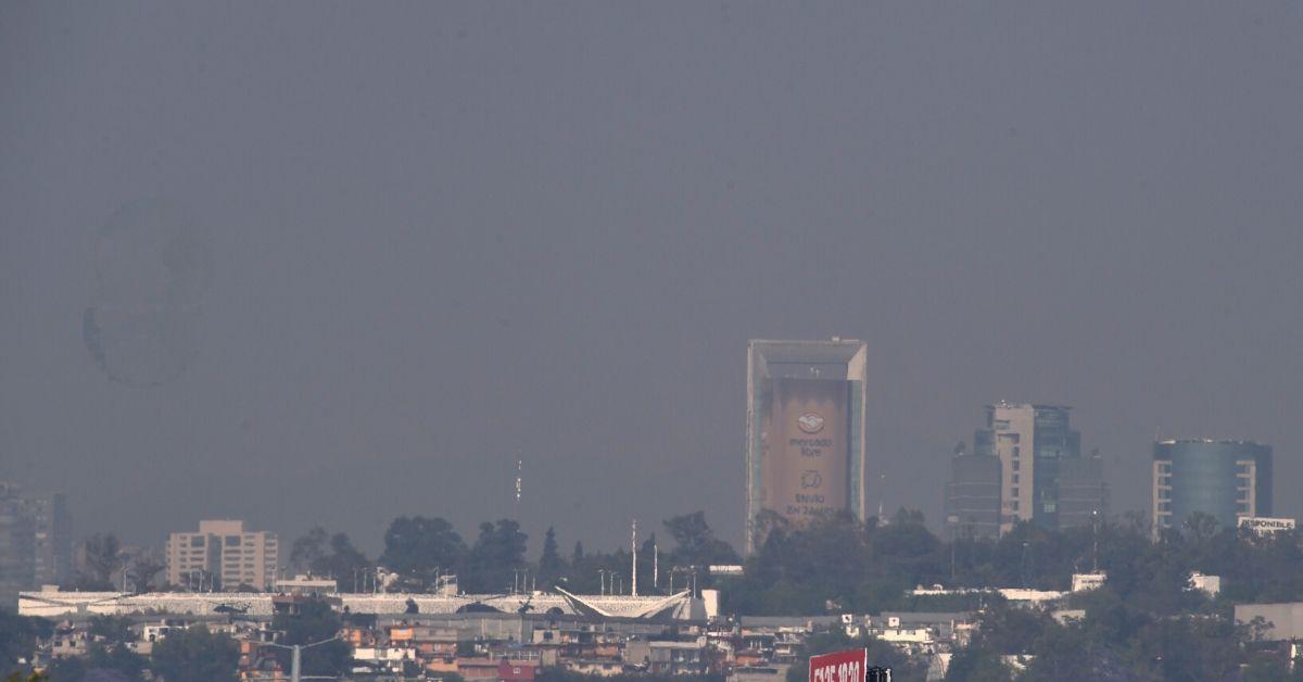 Contaminación ciudad de Mexico