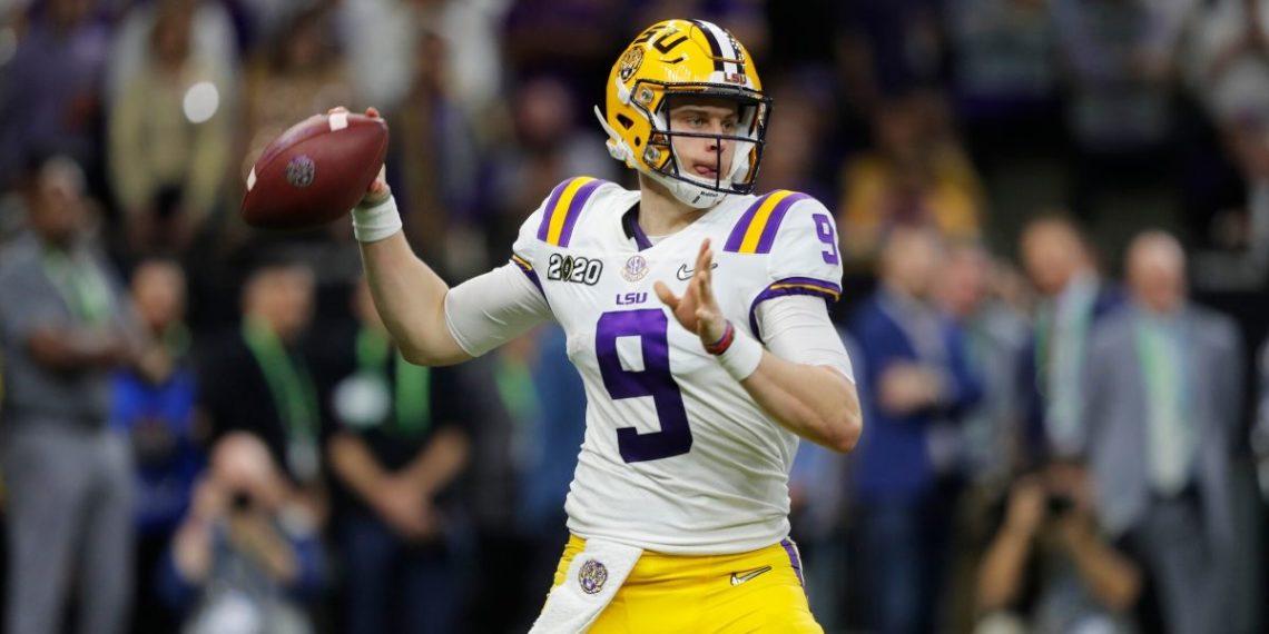 Joe Burrow es la primera escogencia del Draft NFL 2020: lista la ronda inicial de picks