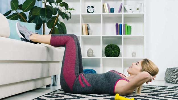 ejercicios relajantes para hacer en casa