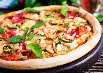 Pizza al horno para hacer en casa