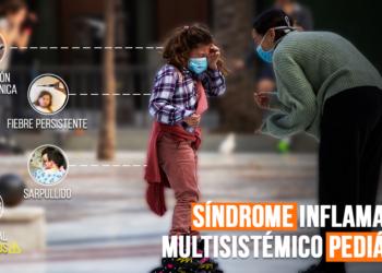 Síndrome inflamatorio niños asociado con coronavirus y enfermedad de Kawasaki