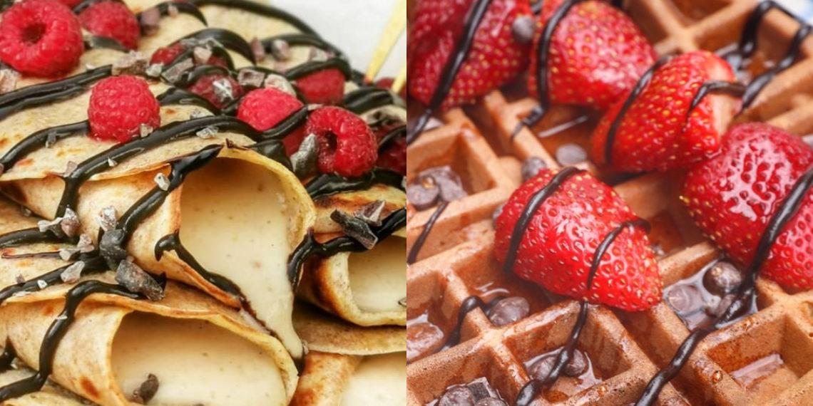 Crepes y waffles: son fáciles de hacer
