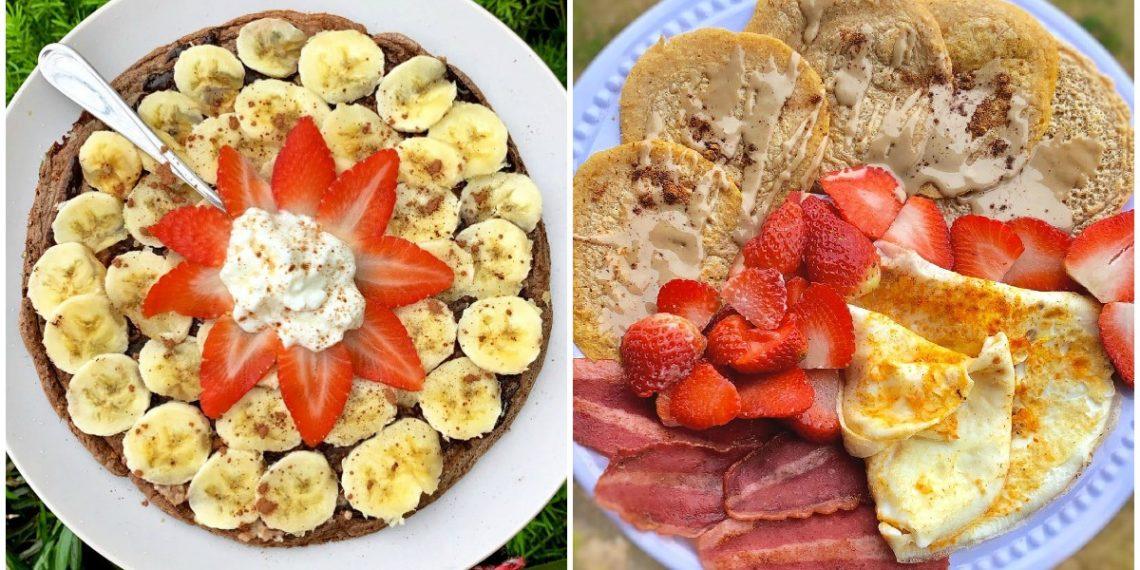 Desayunos saludables con fresas