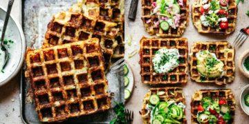 Receta: waffles para el desayuno