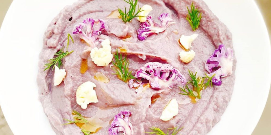 Receta de sopa de coliflor