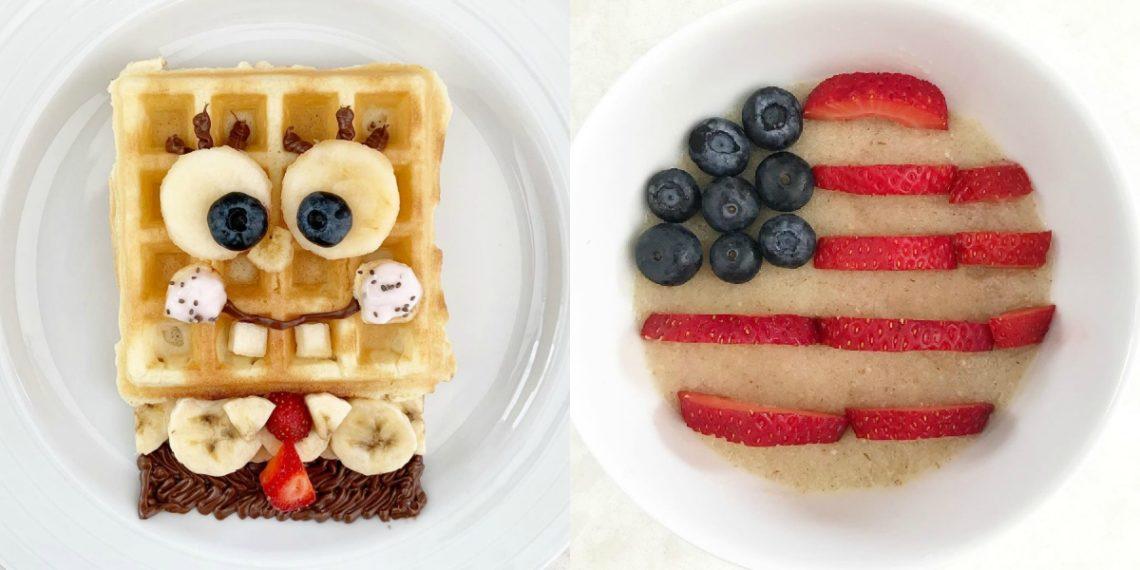 Recetas de comidas saludables para niños