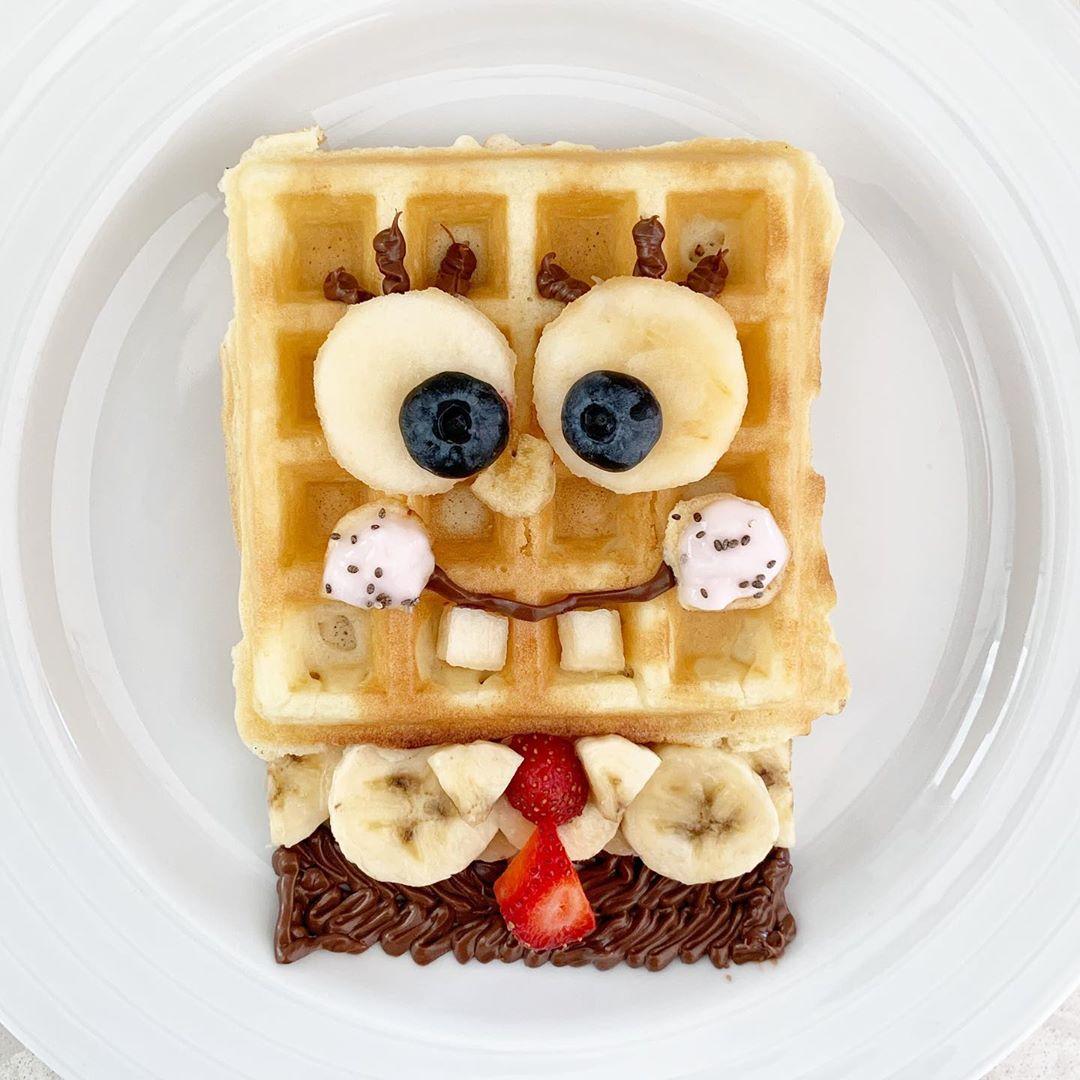 Bob Esponja en Waffles