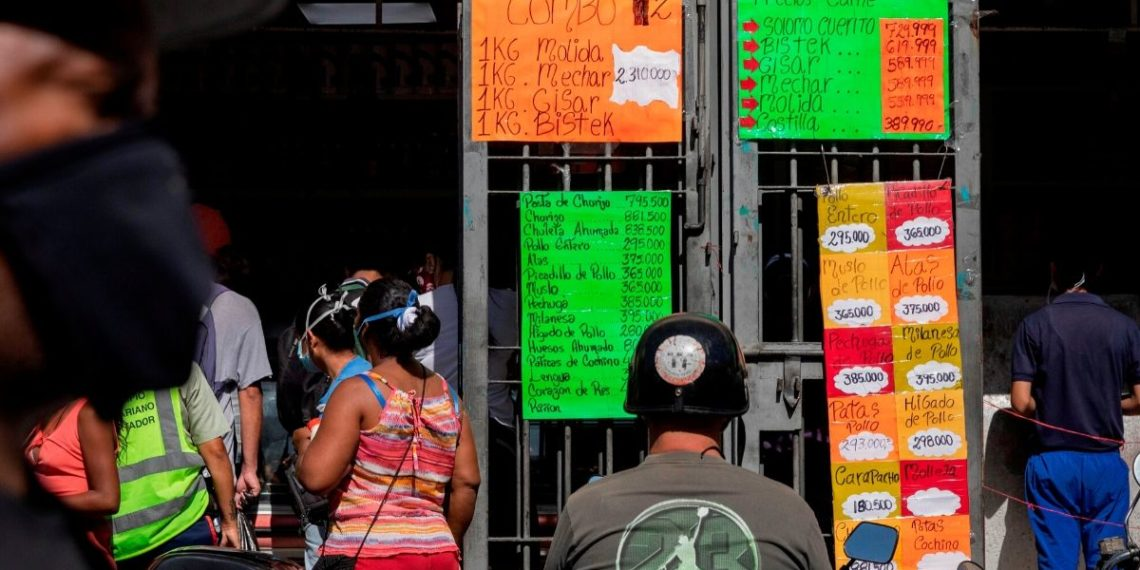 banco central inflación Venezuela