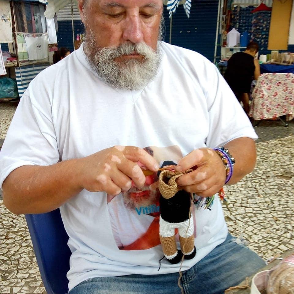 João Stanganelli, el abuelo famoso por sus creaciones