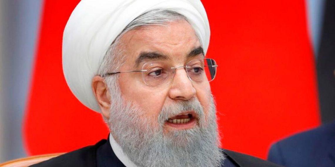 Él presidente iraní, Hasán Rohani. Foto: EFE