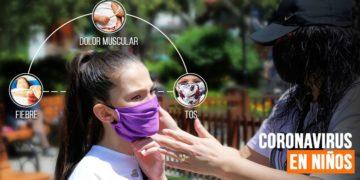 coronavirus niños