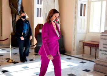 Nancy Pelosi, Líder de la Cámara de Representantes en el Capitolio de EE.UU. EFE