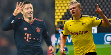 Lewandowski vs Haaland al fin se dará en la Bundesliga