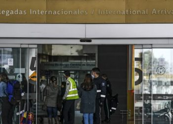 COVID-19 en Bogotá. Aeropuerto El Dorado