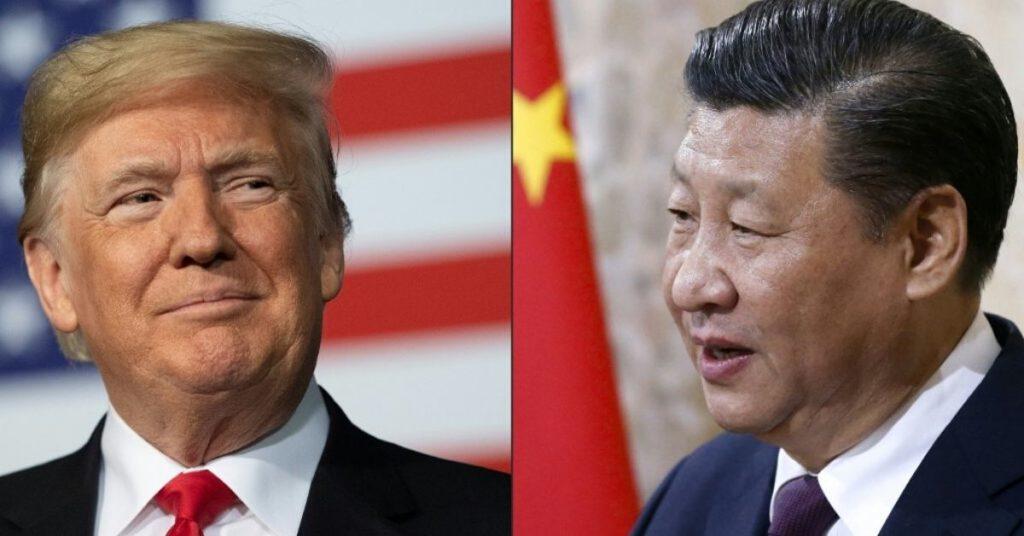 Trump cortar relación con China