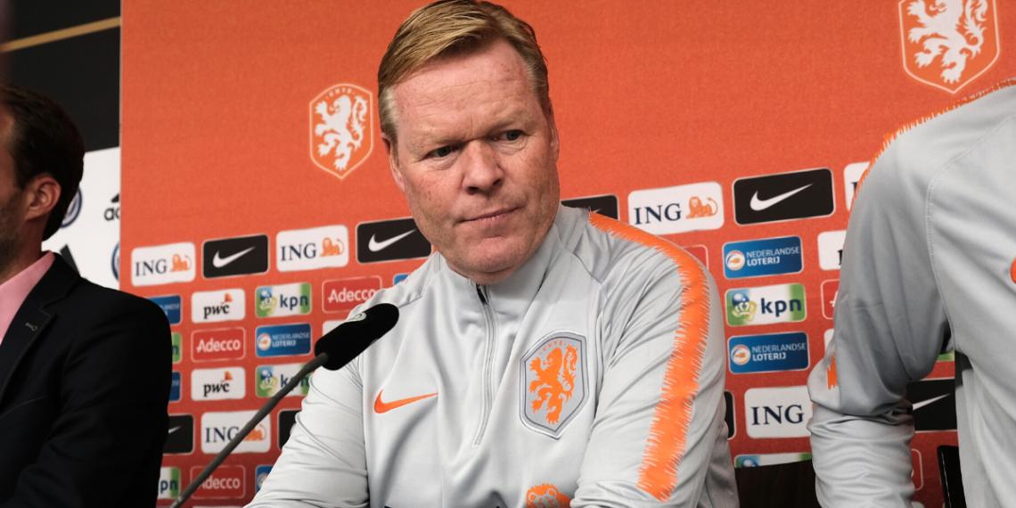 Koeman presenta problemas de salud en Holanda