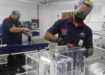 producción de ventiladores