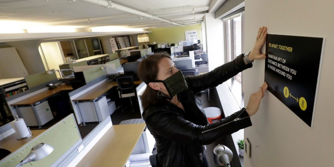 oficinas y el coronavirus