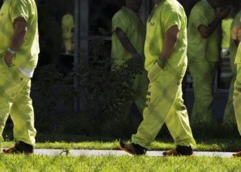 Presos con coronavirus en cárcel de Los Ángeles