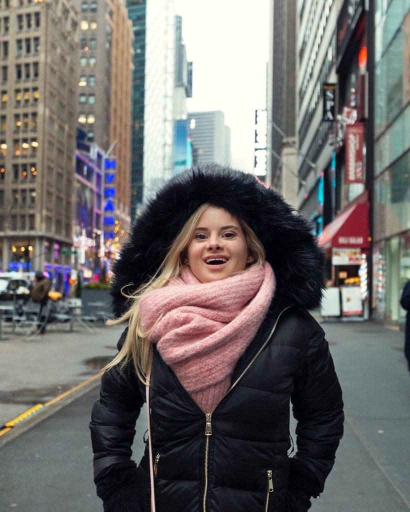 La modelo Sofia Jirau deslumbró en Nueva York