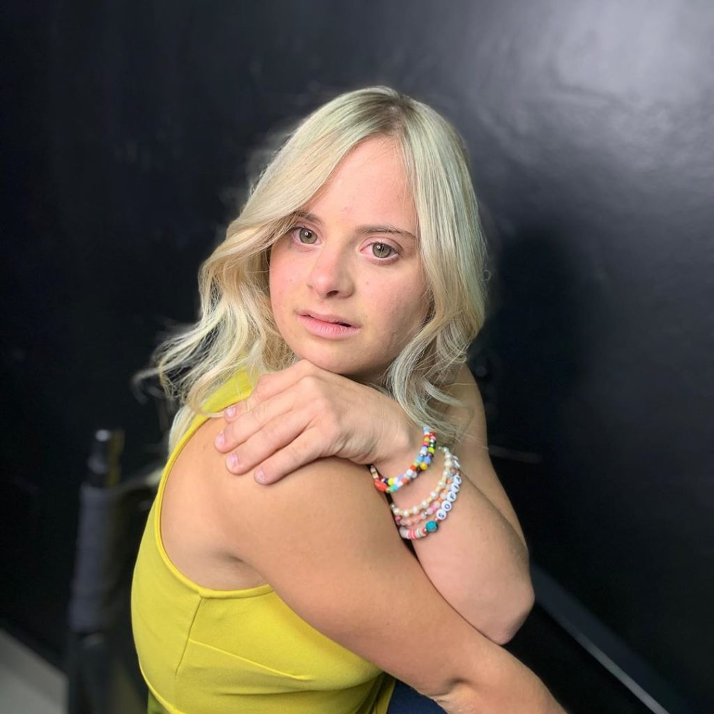 Sofia Jirau, modelo con síndrome de Down
