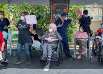 ancianos en Miami