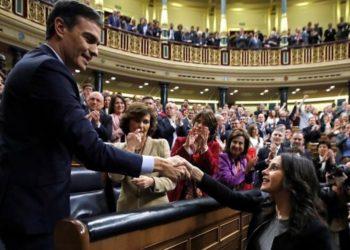 Ciudadanos pacta con el Gobierno de Pedro Sánchez para extender estado de alarma