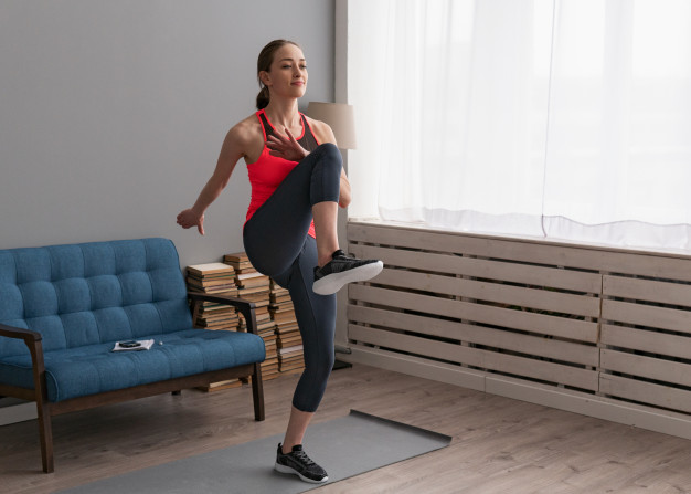 rutina de aerobics