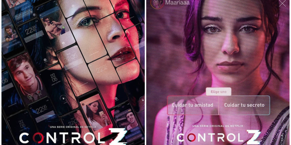 Control Z nueva serie de Netflix