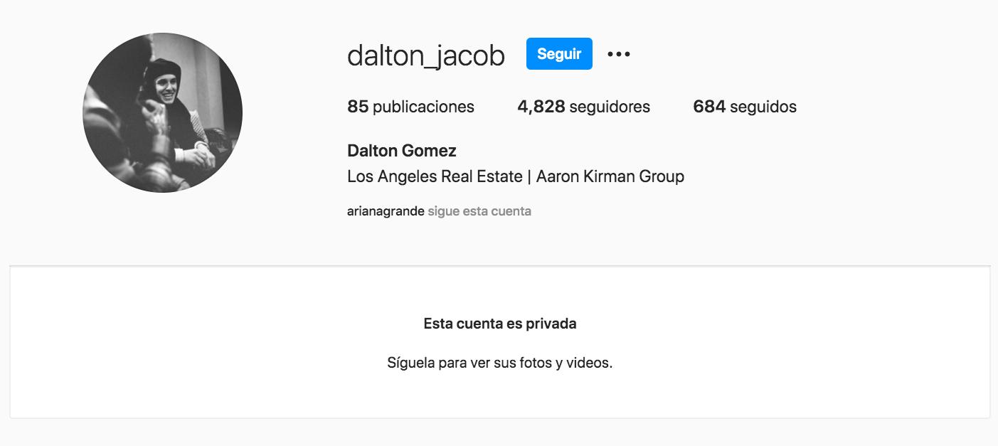 Dalton Gomez Instagram