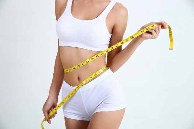 mujer en dieta