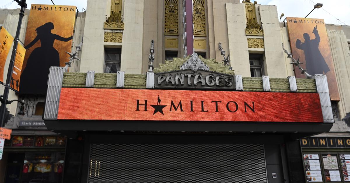 El musical 'Hamilton'