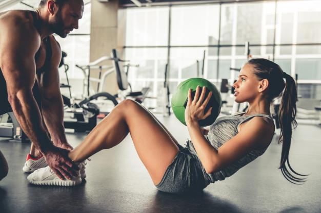 ejercicios en pareja